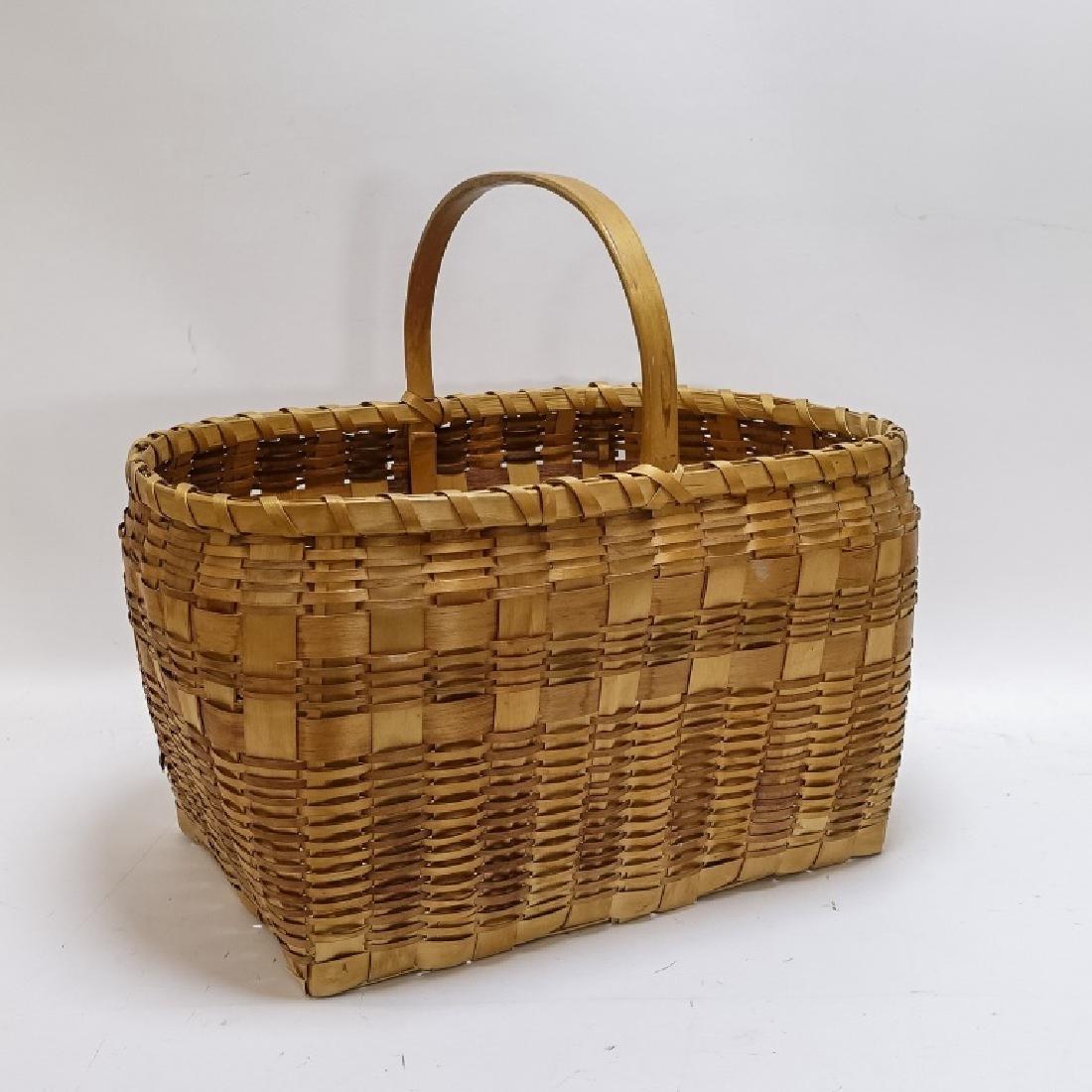 Native American Indian Basket & Yei Rug Group - 8