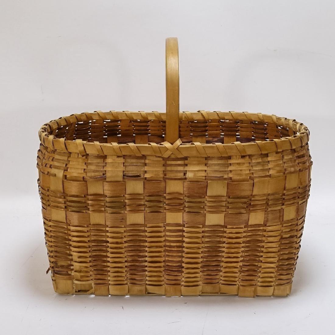 Native American Indian Basket & Yei Rug Group - 9