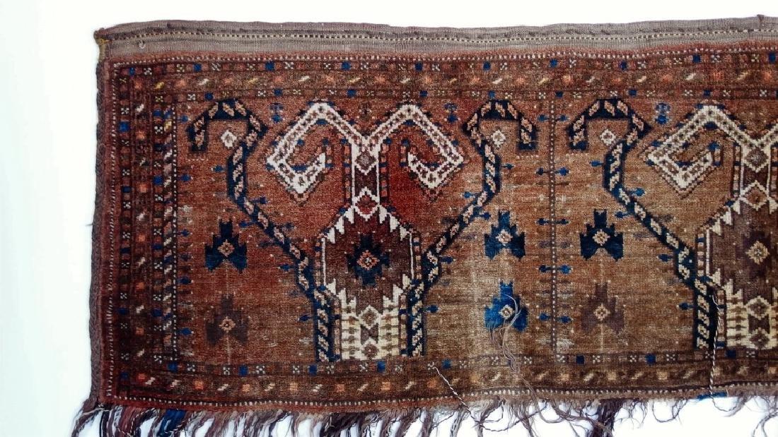 Persian Turkestan Soumak Mafrash Rug Textile - 2