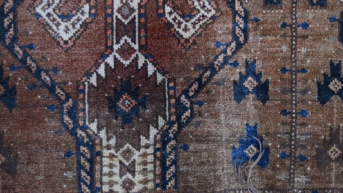 Persian Turkestan Soumak Mafrash Rug Textile - 3