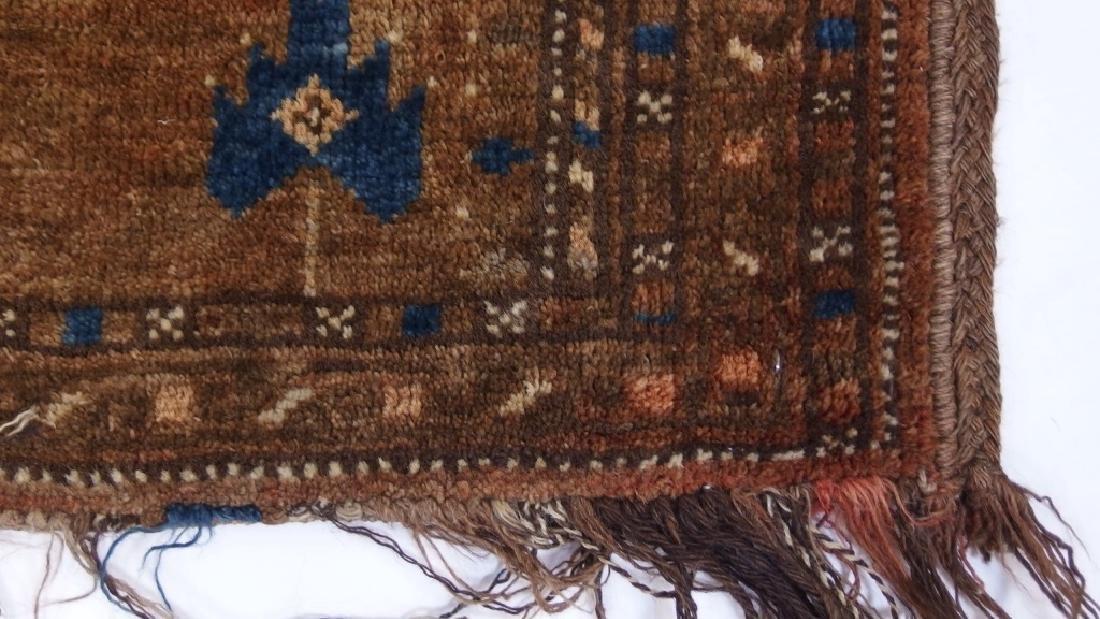 Persian Turkestan Soumak Mafrash Rug Textile - 5
