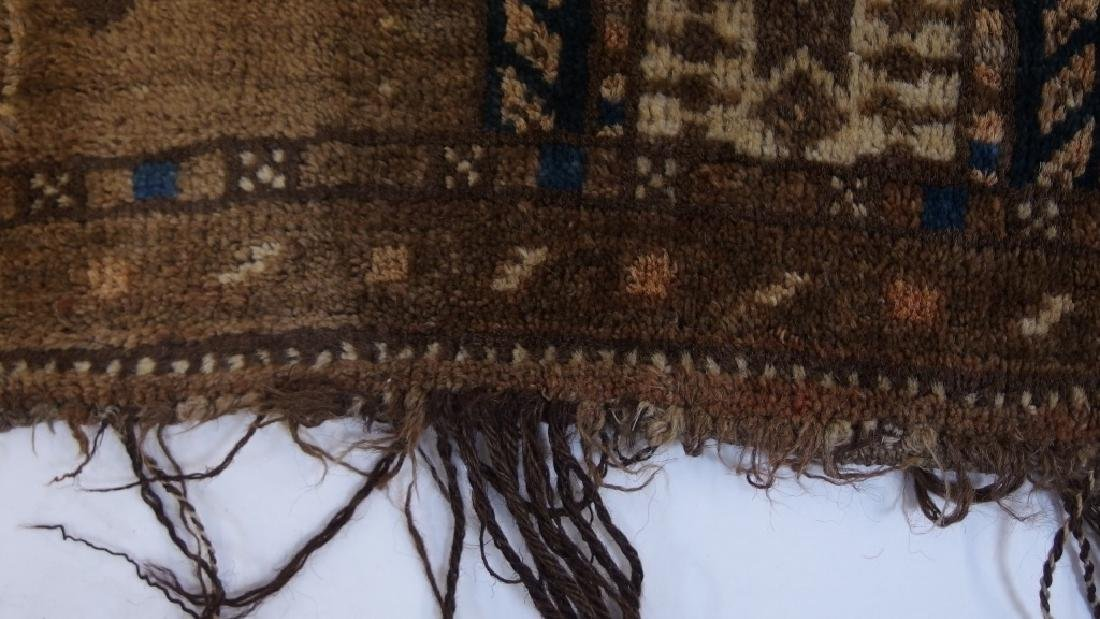 Persian Turkestan Soumak Mafrash Rug Textile - 6