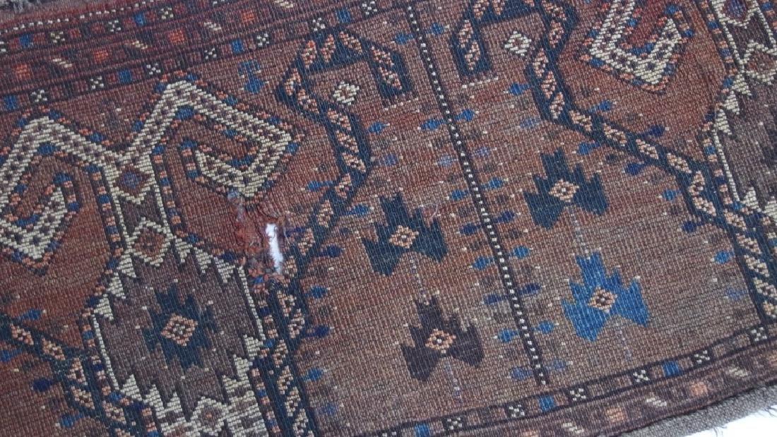 Persian Turkestan Soumak Mafrash Rug Textile - 8