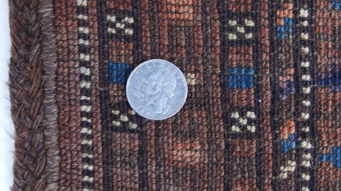 Persian Turkestan Soumak Mafrash Rug Textile - 9