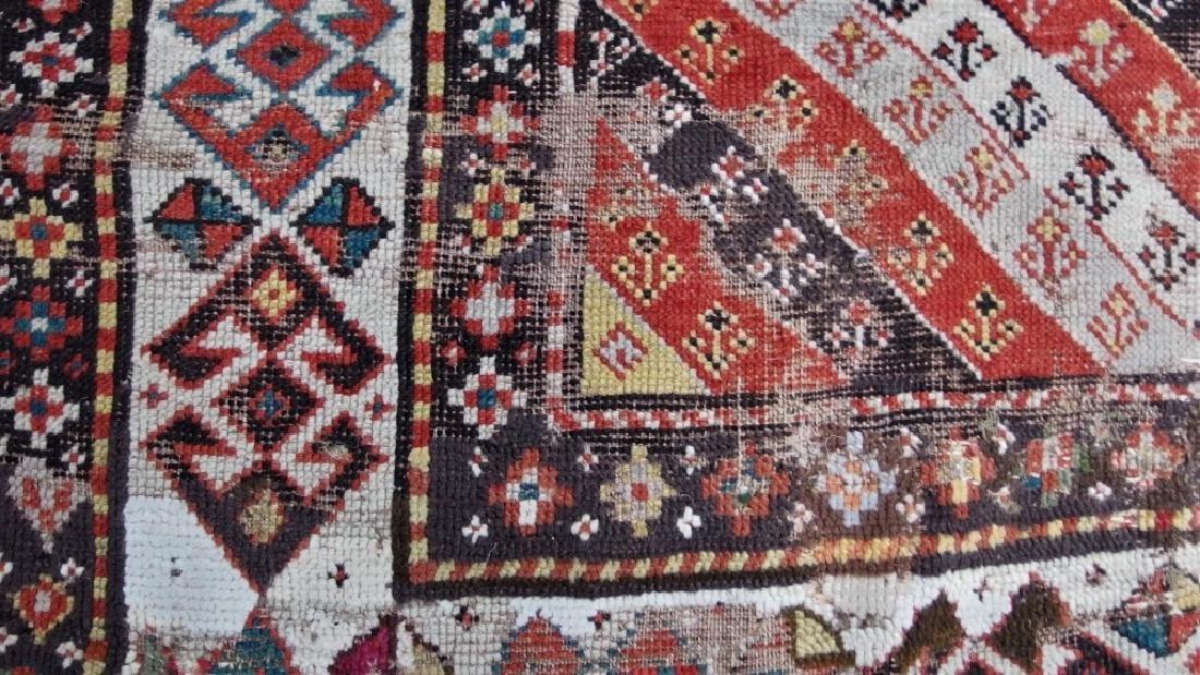 Antique Persian Caucasian Kazak Carpet Rug - 5