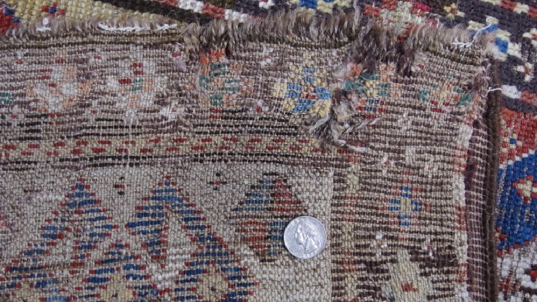 Antique Persian Caucasian Kazak Carpet Rug - 8