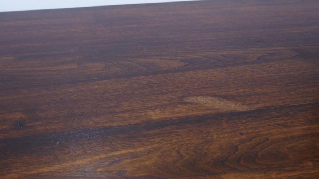 Jacobean Style Walnut Desk Console Table - 4