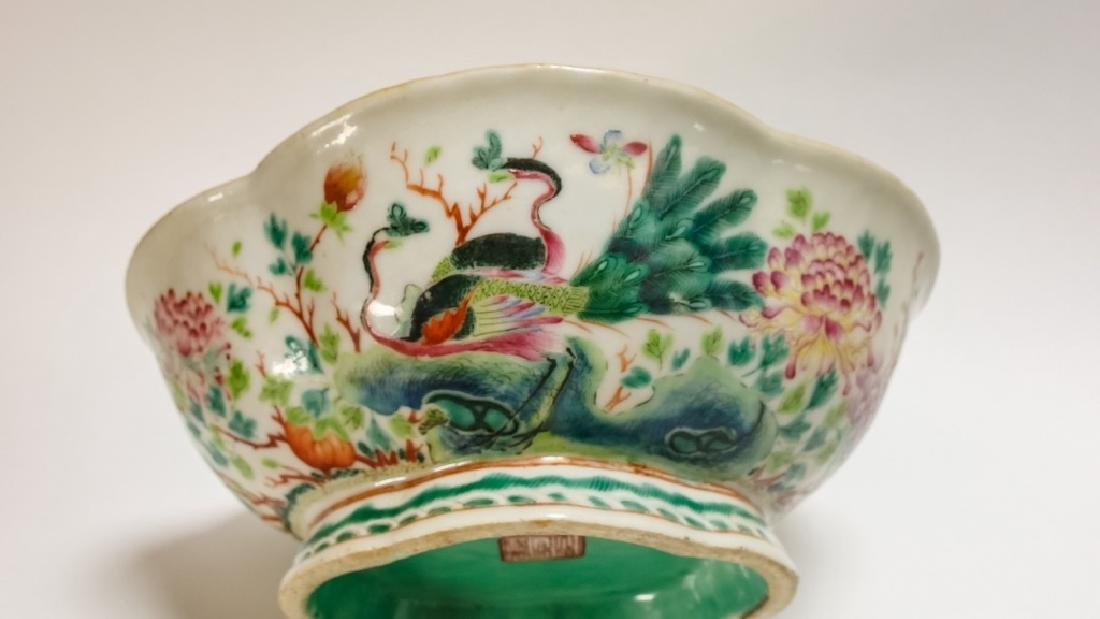 Chinese Famille Rose Japanese Porcelain Group - 5