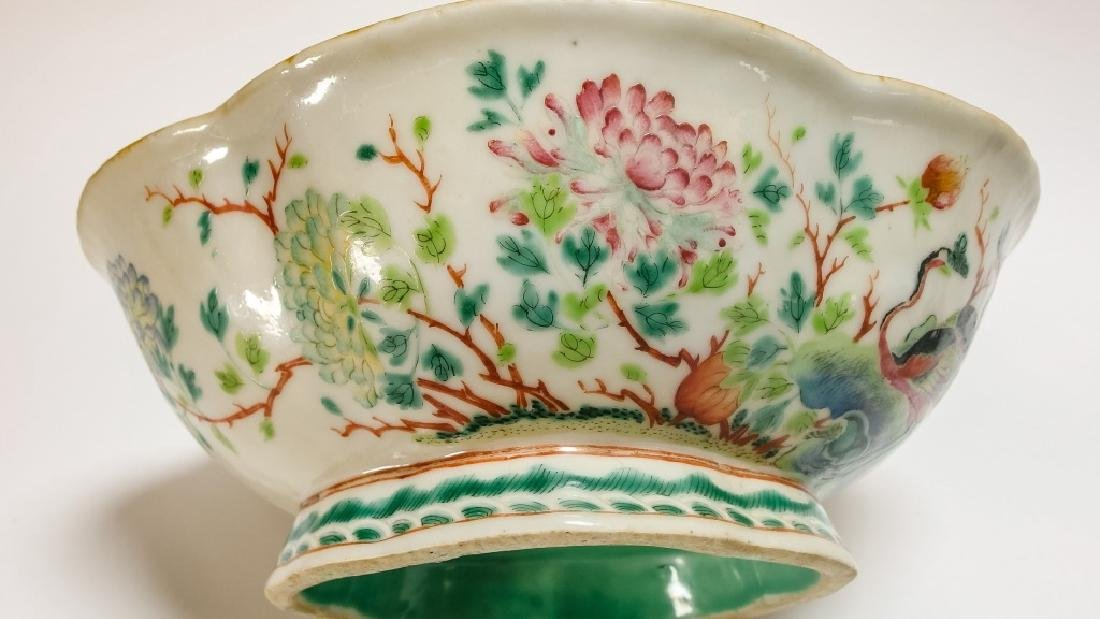 Chinese Famille Rose Japanese Porcelain Group - 6