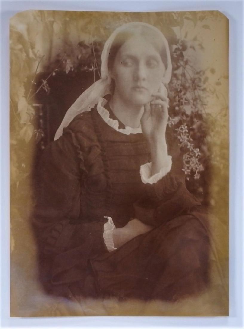 Julia Margaret Cameron Portrait of Mrs. Duckworth