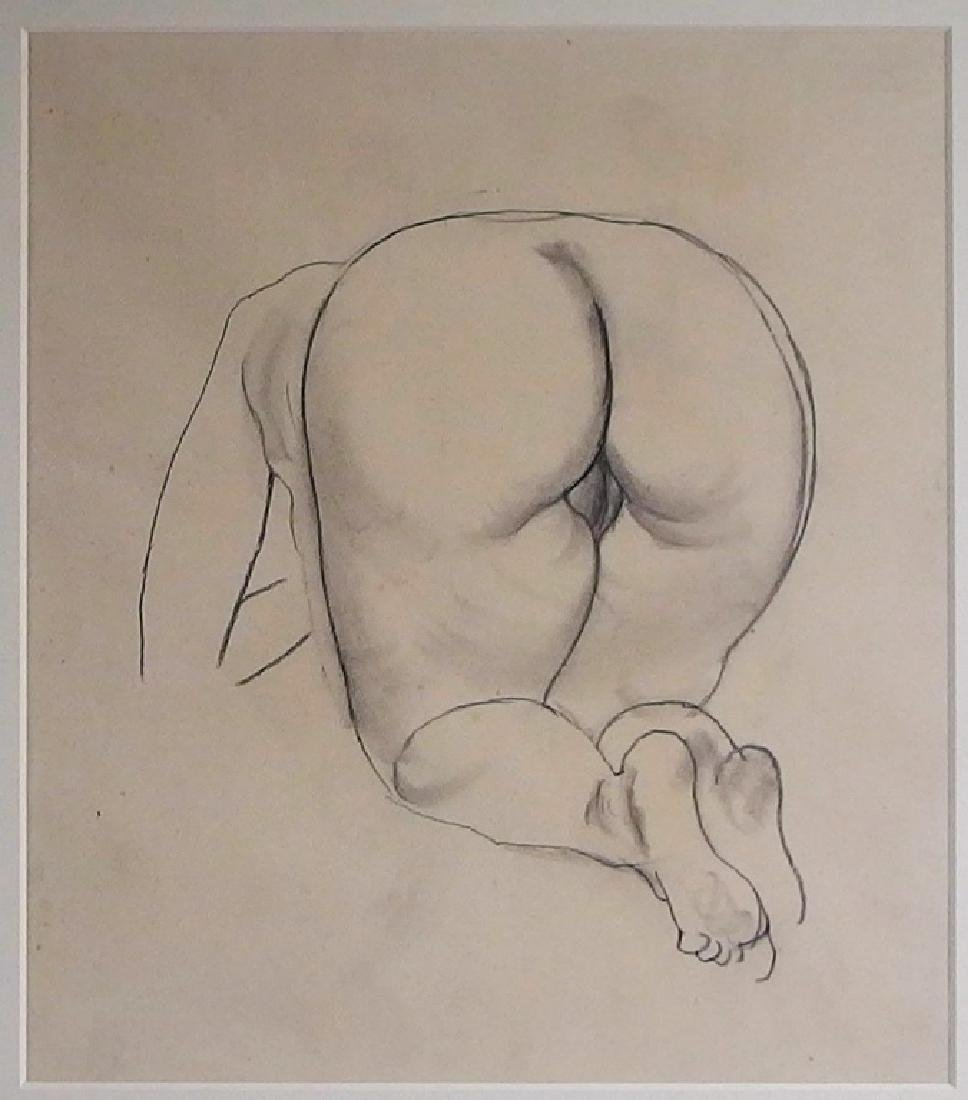 George grosz erotic pencil drawing of female nude