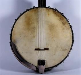 1920s Bacon Style C Tenor Banjo w/ Original Case