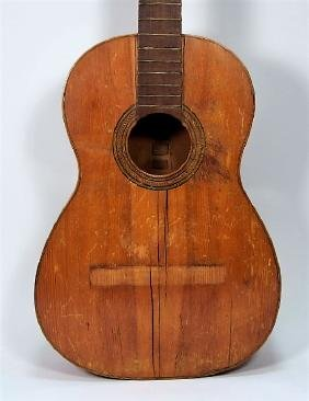 Primitive Hand Made Classical Acoustic Guitar