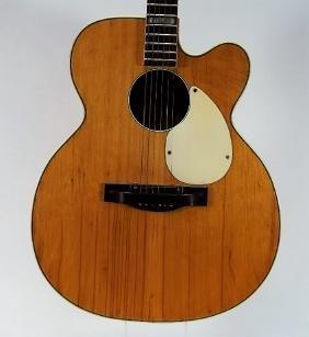 C.1960s Kay Jumbo Acoustic Guitar