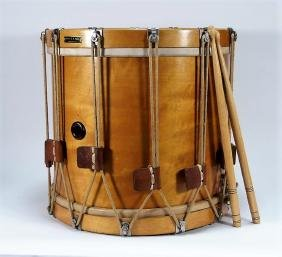 Albert E.S. Alers Rhode Island Marching Snare Drum