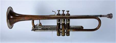 1946 FE Olds  Son Recording Trumpet w Mutes