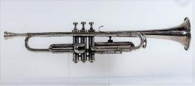 Silver Plated C Trumpet w/ Olds & Bach Mouthpieces