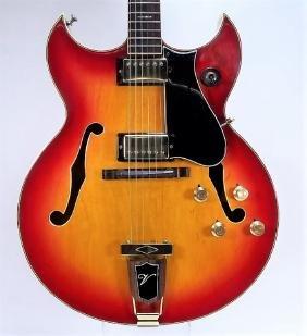 Vintage Ventura Hollow Body Electric Guitar