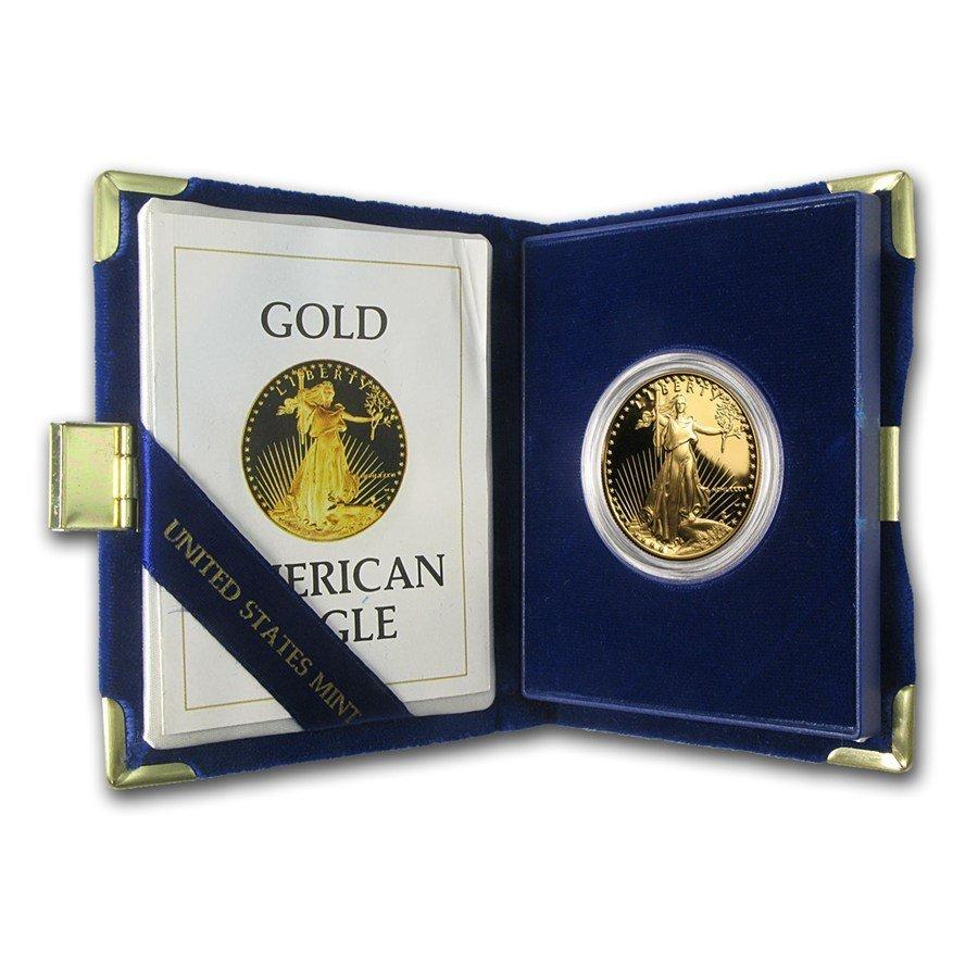 American Eagle 1 oz Proof Gold (Random Year, w/Box &