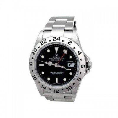 Pre-owned Mens Rolex Stainless Steel Explorer II -