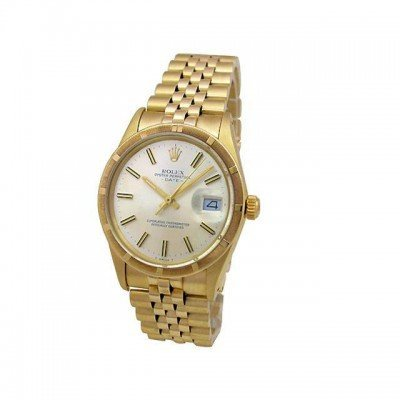 Pre-owned Unisex Rolex Yellow Gold Date - #695F3X