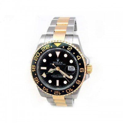 Pre-owned Mens Rolex Two-Tone GMT-Master II - #1145W8F