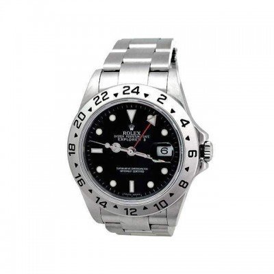 Pre-owned Mens Rolex Stainless Steel Explorer II -