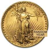 $20 St-Gaudens Gold Double Eagle AU (Random Years)