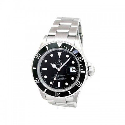 Pre-owned Mens Rolex Stainless Steel Submariner -