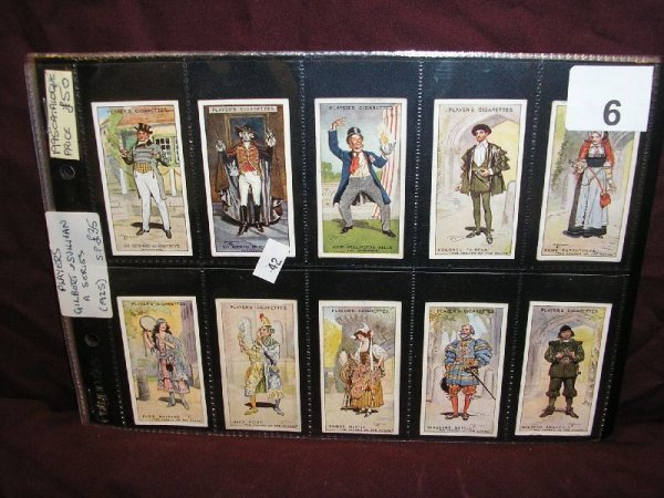 """6B: TOBACCO CARDS-JOHN PLAYER & SONS """"GILBERT AND SULLI"""