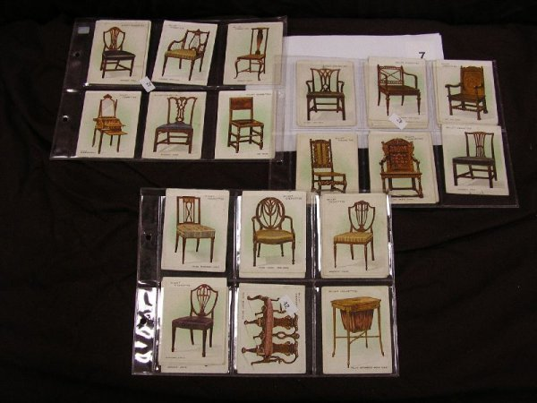 """7B: TOBACCO CARDS-WILLS'S CIGARETTES """"OLD FURNITURE"""" 30"""