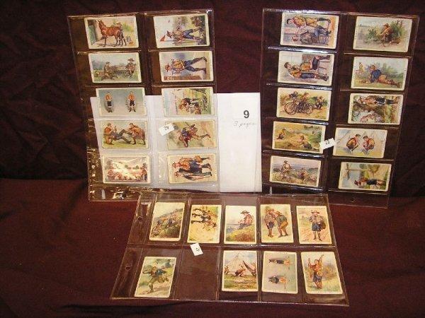 "9B: TOBACCO CARDS ""BOY SCOUT SERIES"" GALLAHER LTD. BELF"