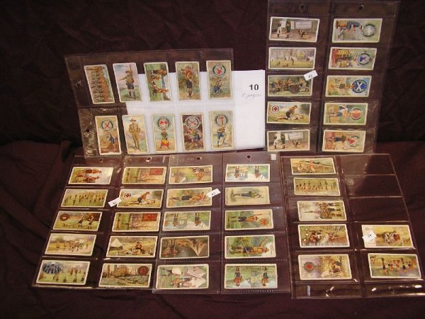 """10B: TOBACCO CARDS-OGDEN'S """"BOY SCOUTS"""" AND """"CWS BOY SC"""