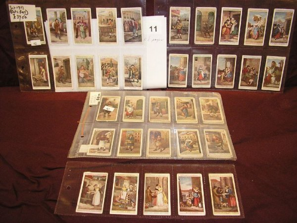 """11B: TOBACCO CARDS-PLAYERS CIGARETTES """"CRIES OF LONDON"""""""