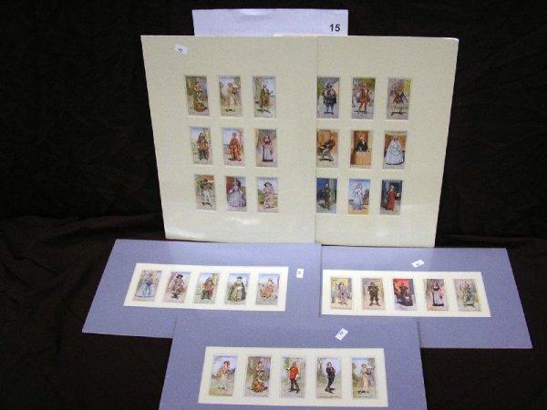 "15B: TOBACCO CARDS-PLAYERS CIGARETTES ""GILBERT & SULLIV"