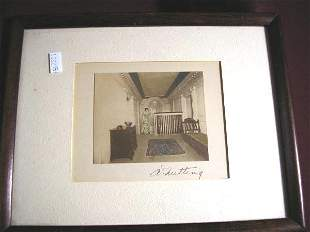 WALLACE NUTTING PRINT UNTITLED LADY IN HALLWAY
