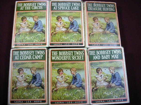 1201: (JUVENILES) 6 Bobbsey Twins in Fair to Good