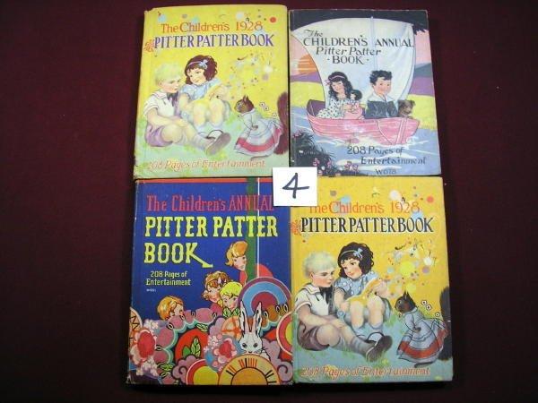 1204: 4 Vols-CHILDREN'S ANNUAL PITTER PA 1927-1928