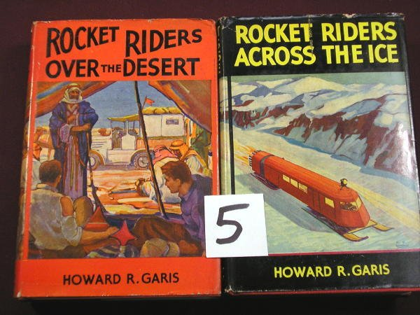 1205: (JUVENILE-SCIENCE FICTION) GARIS, HOWARD K.;