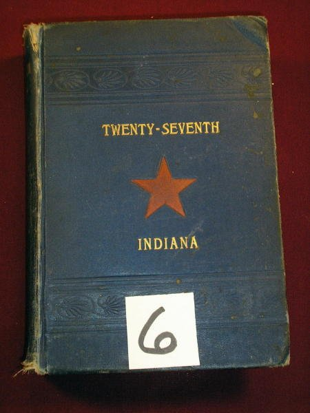 1206: (CIVIL WAR REGIMENTAL) TWENTY SEVENTH INDIANA