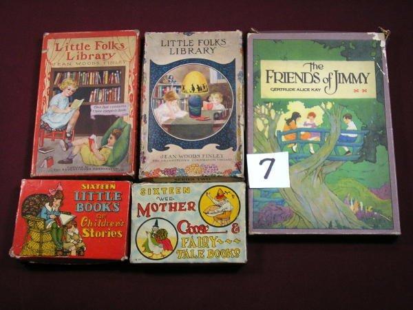 1207: (BOXED CHILDREN'S BOOKS)  FINLEY, JEAN WOODS;