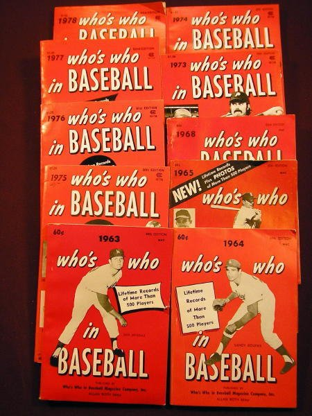 1208: 10 WHO'S WHO IN BASEBALL 1960'S & 1970'S