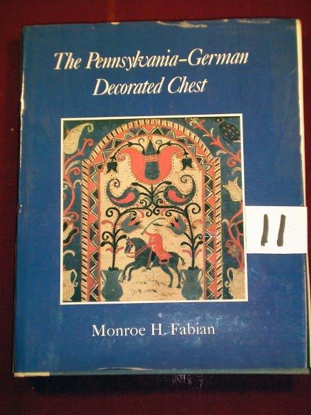 1211: (PENNSYLVANIA) GERMAN DECORATED CHEST 1968