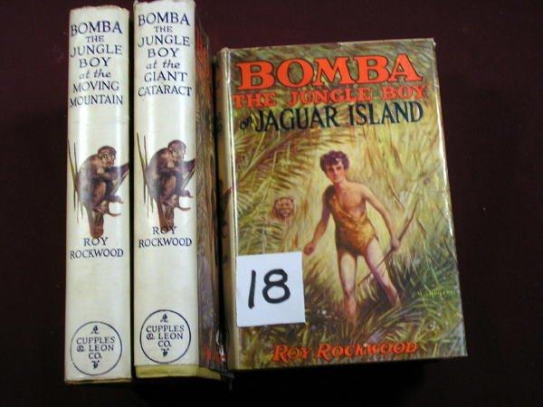 1218: (JUVENILE) 4 BOMBA VOLS. , ROY ROCKWOOD