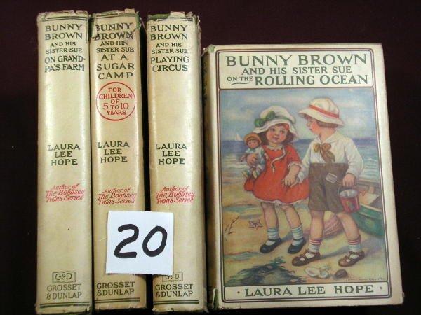1220: 5 BUNNY BROWN Laura Lee Hope DJ