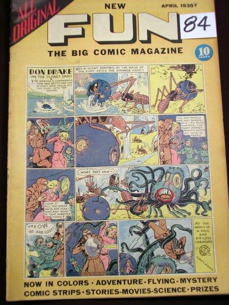 1284: (COMICS) NEW FUN COMICS, NO. 3; APRIL, 1935;