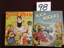 1298 BIG LITTLE BOOK BUCK ROGERS ON THE MOONS O