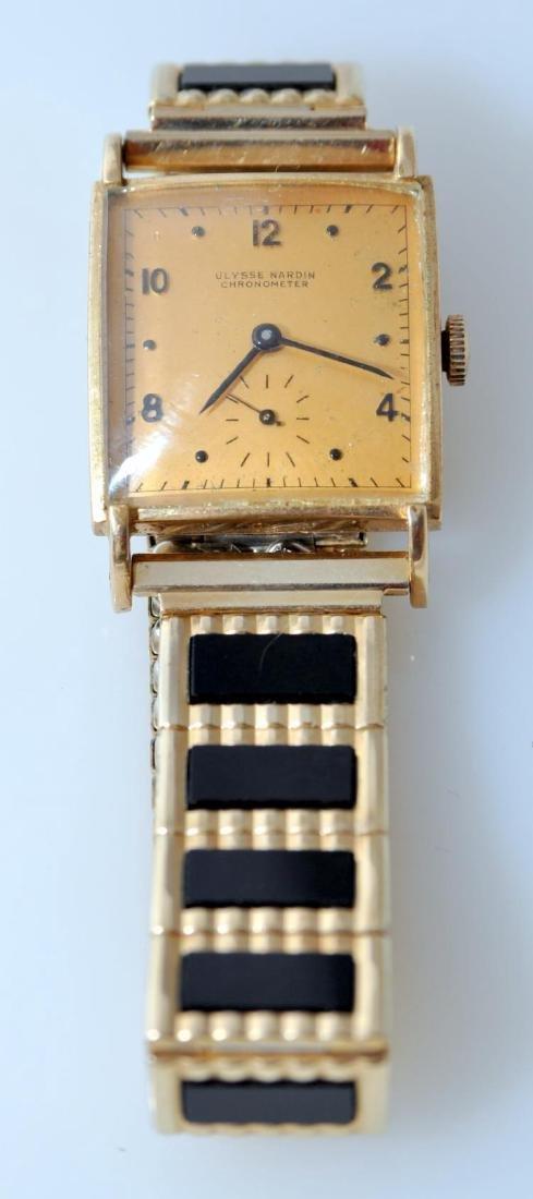 14k vintage chronometer Ulysse Nardin