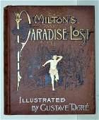 Miltons Paradise Gustave Dore Illustrated Altemus