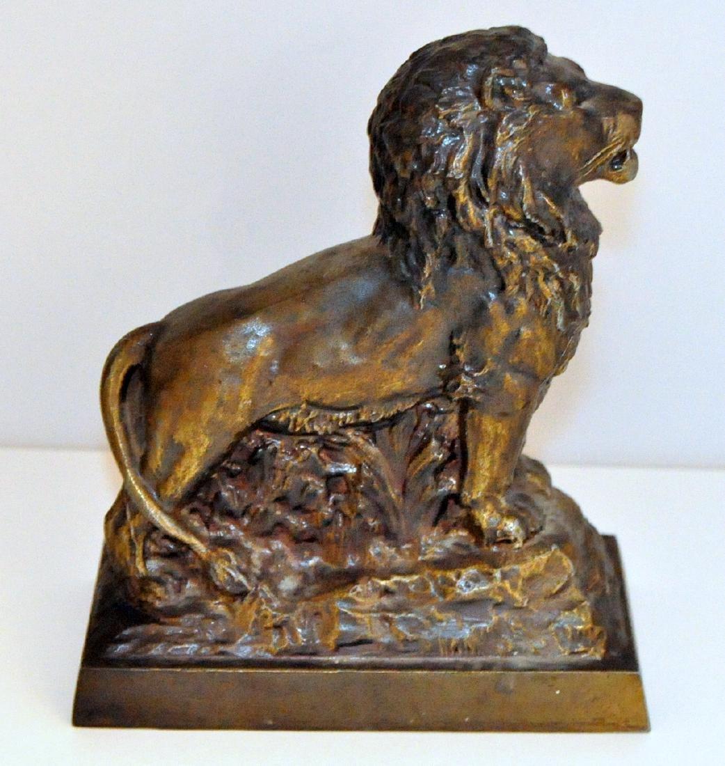Vintage advertising lion bank Banthrico